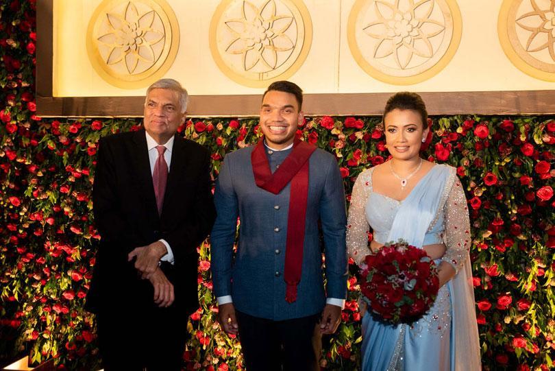 Daily Mirror - At Namal Rajapaksa's wedding reception