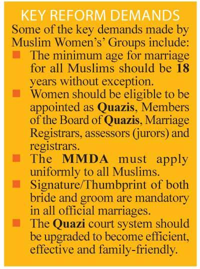 Daily Mirror - MMDA Reforms and Child Marriages in Sri Lanka