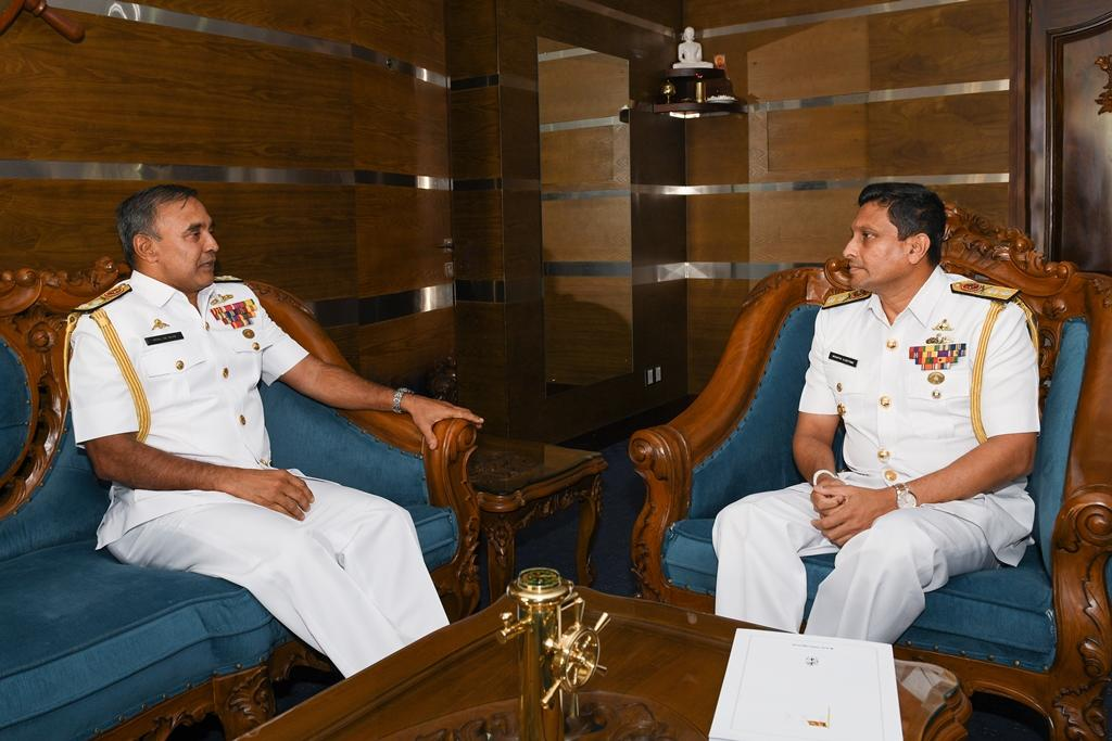 Daily Mirror - Rear Admiral Ulugetenne new Chief of Staff of