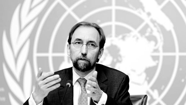 United Nations Un Human Rights High Commissioner Zeid Raad Al Hussein Commenting On The Report On Sri Lanka On Wednesday At The United Nations Office In