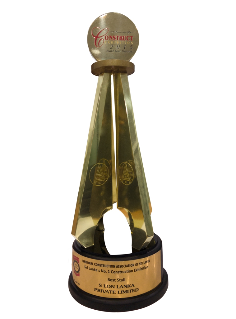 Exhibition Stall Builders In Sri Lanka : S lon stall wins the grand award at construct exhibition