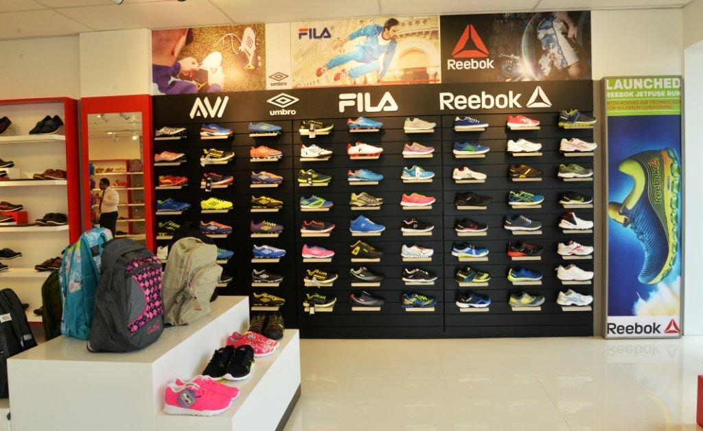 fila shoes showroom