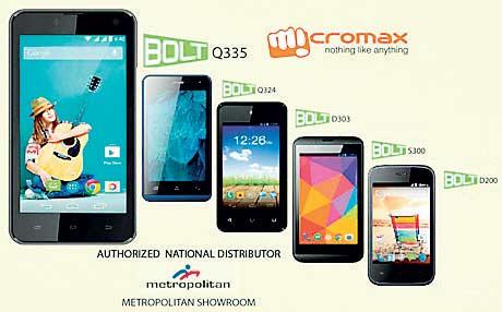 Micromax ups Smartphone ante unveiling BOLT range for Sri Lankan ...