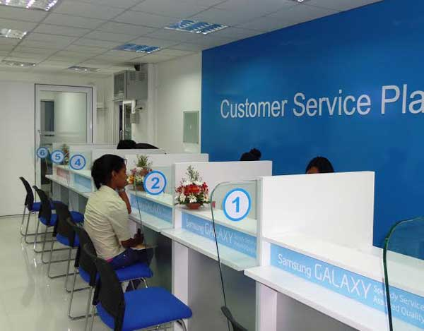 Daily Mirror - Samsung Opens First-Ever Customer Service