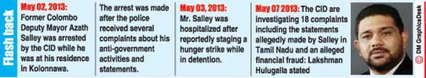 Daily Mirror - Azath Salley the true story