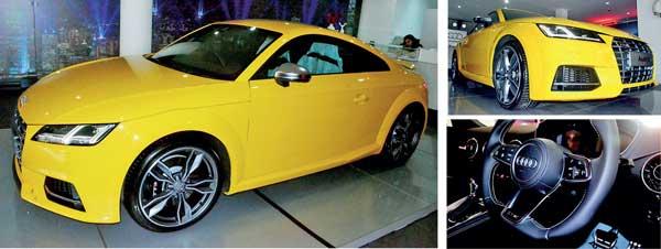 Coupe Of The Year AUDI TTS Arrives In Sri Lanka Daily Mirror - Audi car for sale in sri lanka