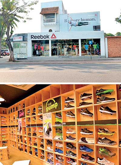 8fcbcb7c2b3f2a Daily Mirror - DSI opens 3rd Reebok FitHub Concept Store in Colombo 4