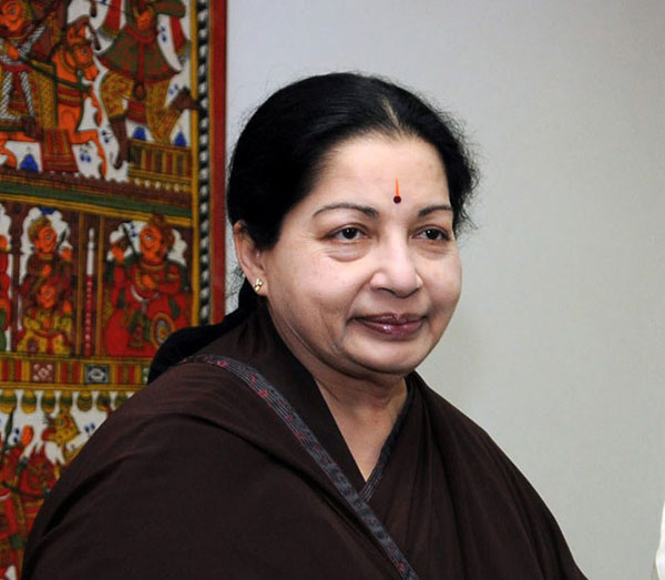 "Daily Mirror - AIADMK Leader ""Amma"" Jayalalithaa Has Tamil Nadu At"