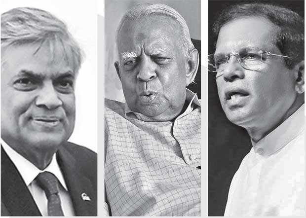 Triangle of conflicts in Tamil Politics