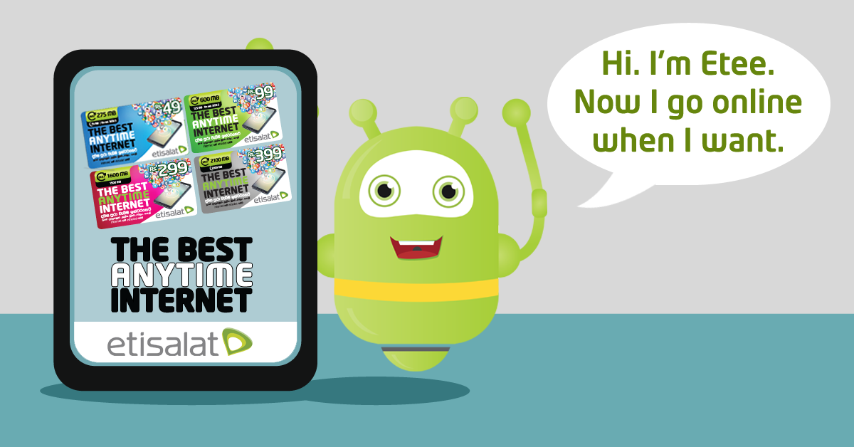 Daily Mirror - Etisalat Lankaoffers more Data at any time of