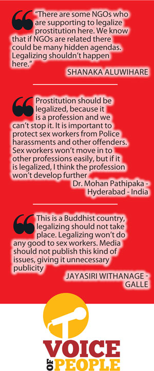 Legalizing Prostitution in Sri Lanka , Pros & Cons - Daily Mirror ...