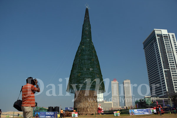 The world's tallest artificial Christmas tree - Daily Mirror - Sri ...