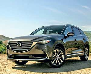 Mazdau0027s Chief Designer Julien Montousse Has Taken The SUV Game To A New  Level With The CX 9, As Piped LED Lamps, Understated Fog Lights,  Trapezoidal Arches, ...