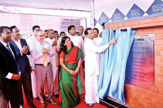 Foundation laid for Nestlé Lanka's Rs.5bn factory expansion Image_1484286749-ddb1847b5c