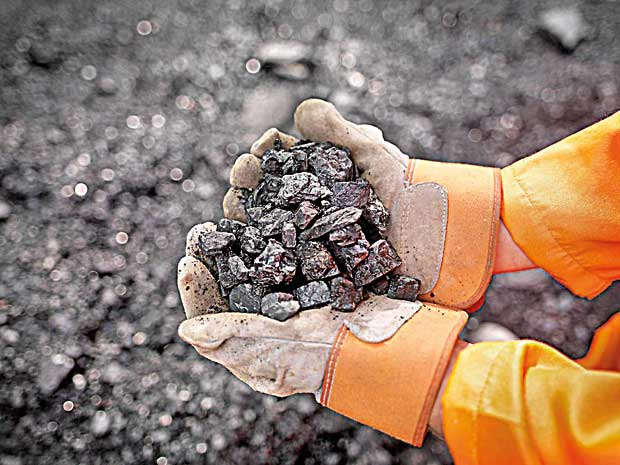 Daily Mirror - Coal Tenders: Blackening everything it touches
