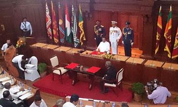 Image result for sri lanka cabinet reshuffle