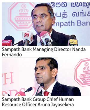Sampath Bank holds '25 Years of Service Awards 2017 ...