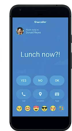 Daily Mirror - Truecaller app adds new flash messaging and SMS