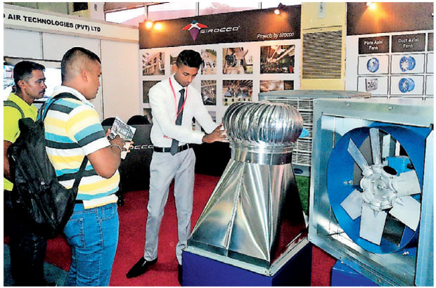 Exhibition Stall Builders In Sri Lanka : Sirocco air technologies stall at construction expo a