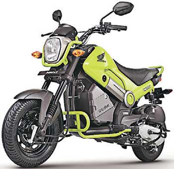 The Navi Is Designed By Honda Motorcycles And Scooters India With Technology From Motor Company Japan Based On Tried Proven Platforms