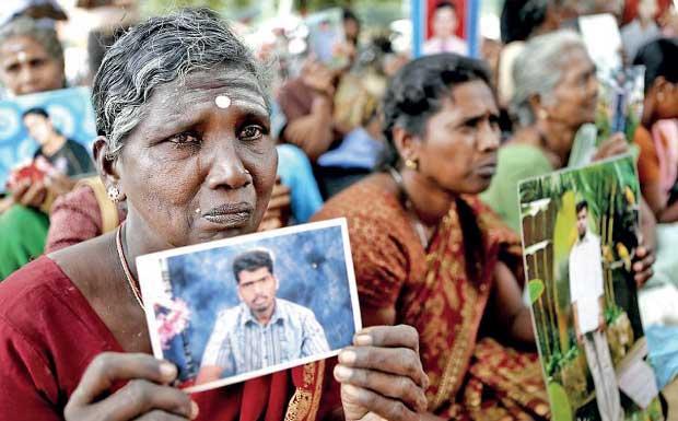 Image result for sri lanka disappearances