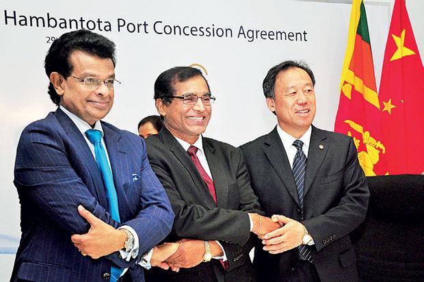 Sri Lanka in China Port Deal