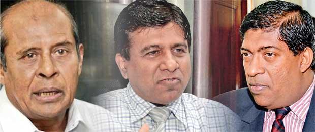 Ravi, Wijeyadasa and Marapana Manifestation of Govt's moral predicament
