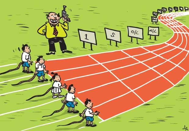 rat race in school के लिए चित्र परिणाम