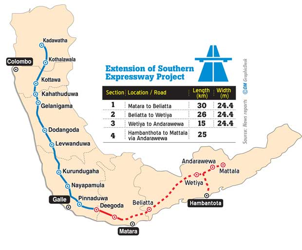 Daily Mirror - Dizzing Bends In Expressway Projects