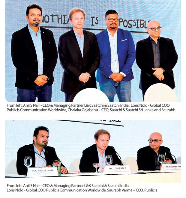 Publicis Groupe The World S Third Largest Communications Company Recently Extended Its Presence To Sri Lanka By Launching Saatchi A Full Service