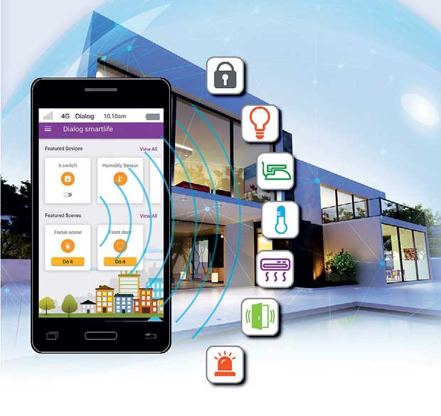 Dialog Axiata PLC Recently Announced The Launch Of Connected Home A Futuristic Automation Solution Which Is To Be One Many Revolutionary