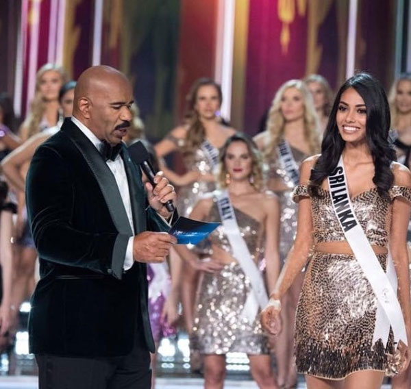 Daily Mirror Miss Universe Sri Lanka Makes It To Top 16