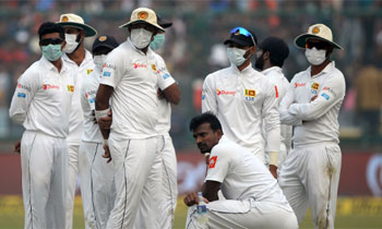 Indian skipper leave Sri Lanka gasping at 131 for 3 in reply to host's 536 for 7