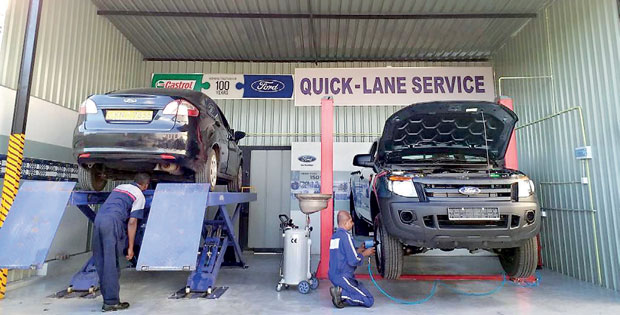 Future automobiles launches ford quick lane service for Ford motor company news headlines