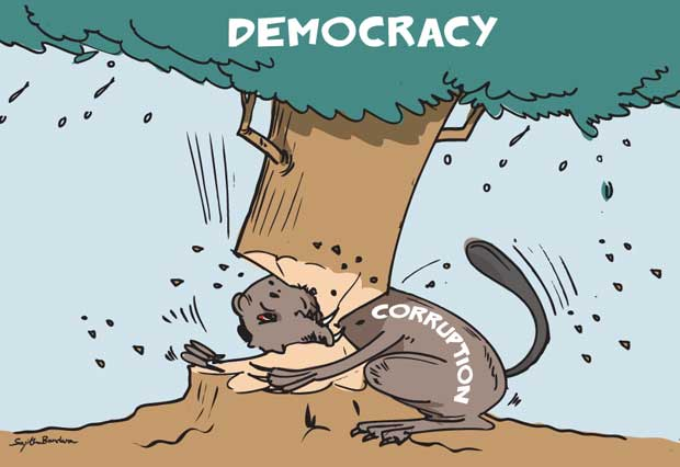 foundation of democracy This paper develops a game-theoretic approach to the problem of political  officials' respect for political and economic rights of citizens.