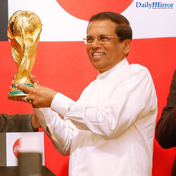 FIFA World Cup™ Trophy Unveiled By His Excellency The