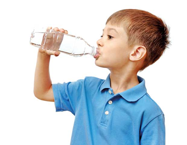 Daily Mirror - Dealing with dehydration in Children