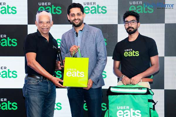 Daily Mirror - Uber Eats in Colombo this month