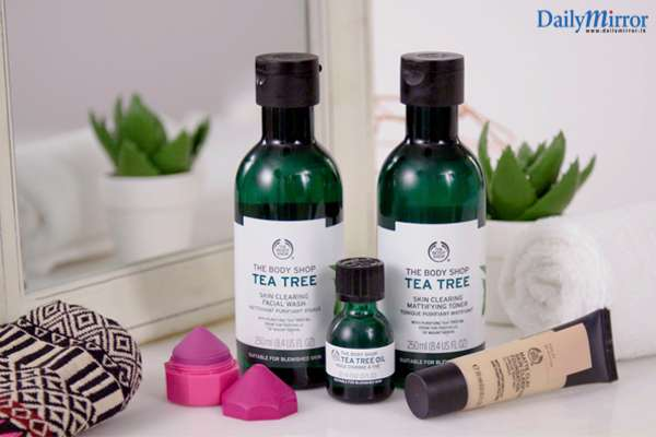 Daily Mirror - How effective is The Body Shop's Tea Tree Oil?