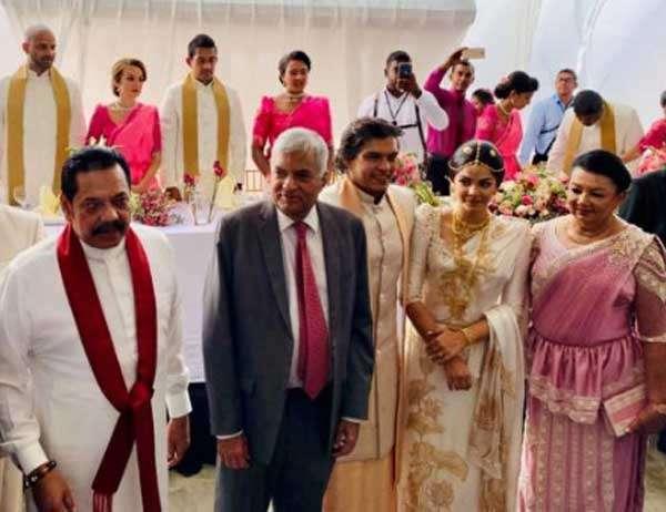 Daily Mirror - Rohitha weds Tatyana