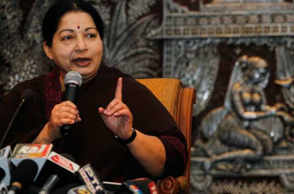 Daily Mirror - TAMIL NADU CHIEF MINISTER JAYALALITHAA ON THE